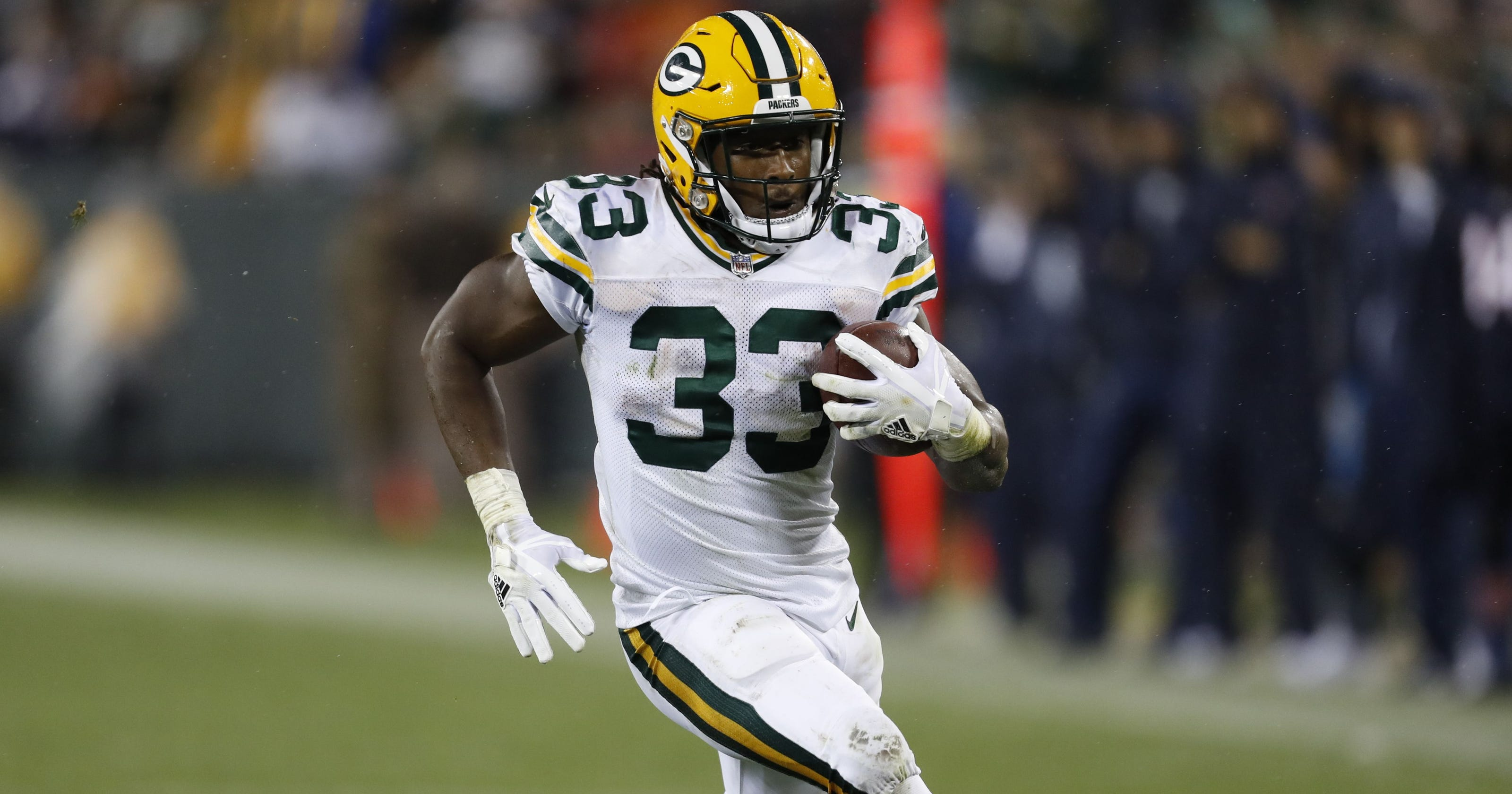 Aaron Jones DFS DraftKings