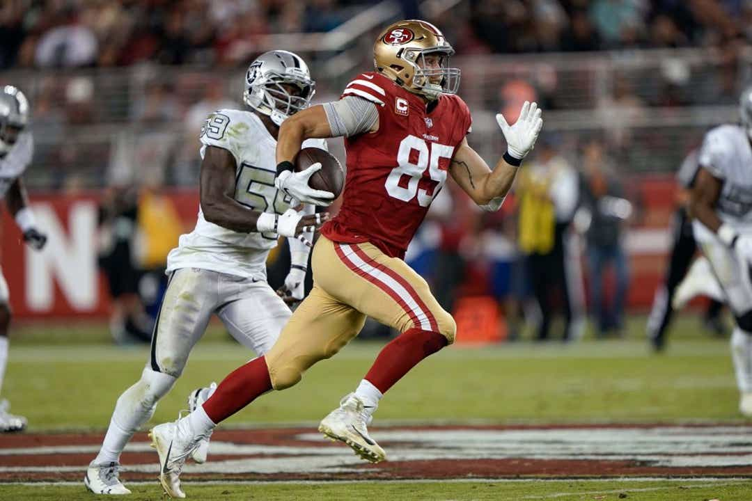 DFS DraftKings George Kittle