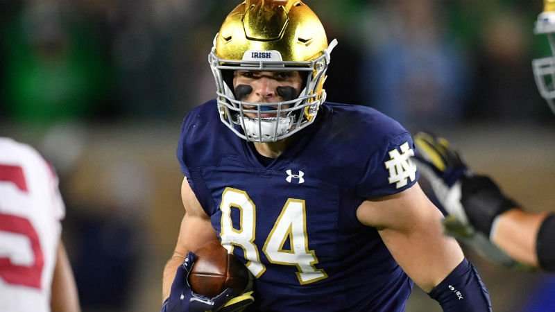 2020 NFL Draft Rookie TE Landing Spots King Fantasy Sports Cole Kmet