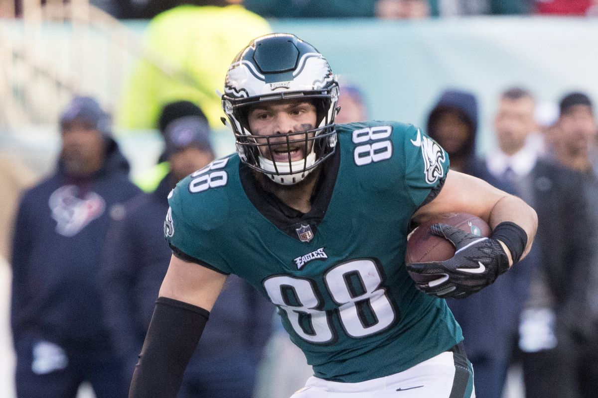 Week 4 Injury Reports 2020 Tight End Landscape King Fantasy Sports Dallas Goedert
