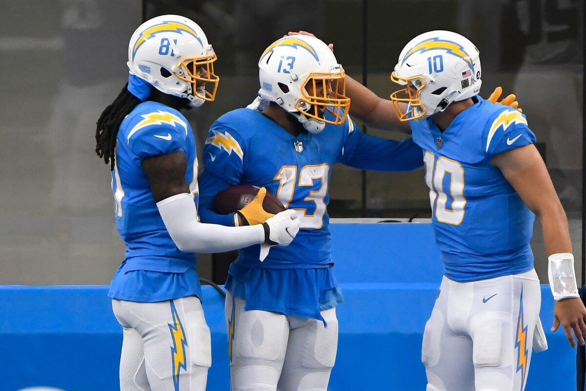 Chargers WR Williams or Allen? DraftKings Showdown 2021 Las Vegas @Los Angeles King Fantasy Sports